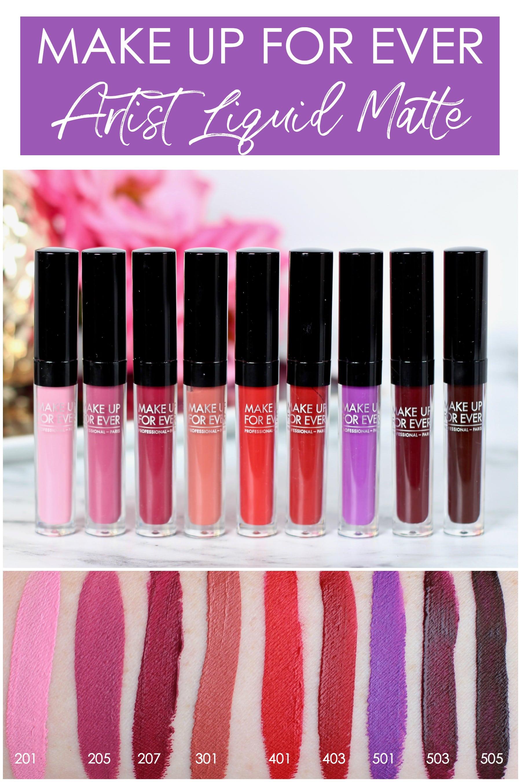 Mufe Liquid Lipstick Review