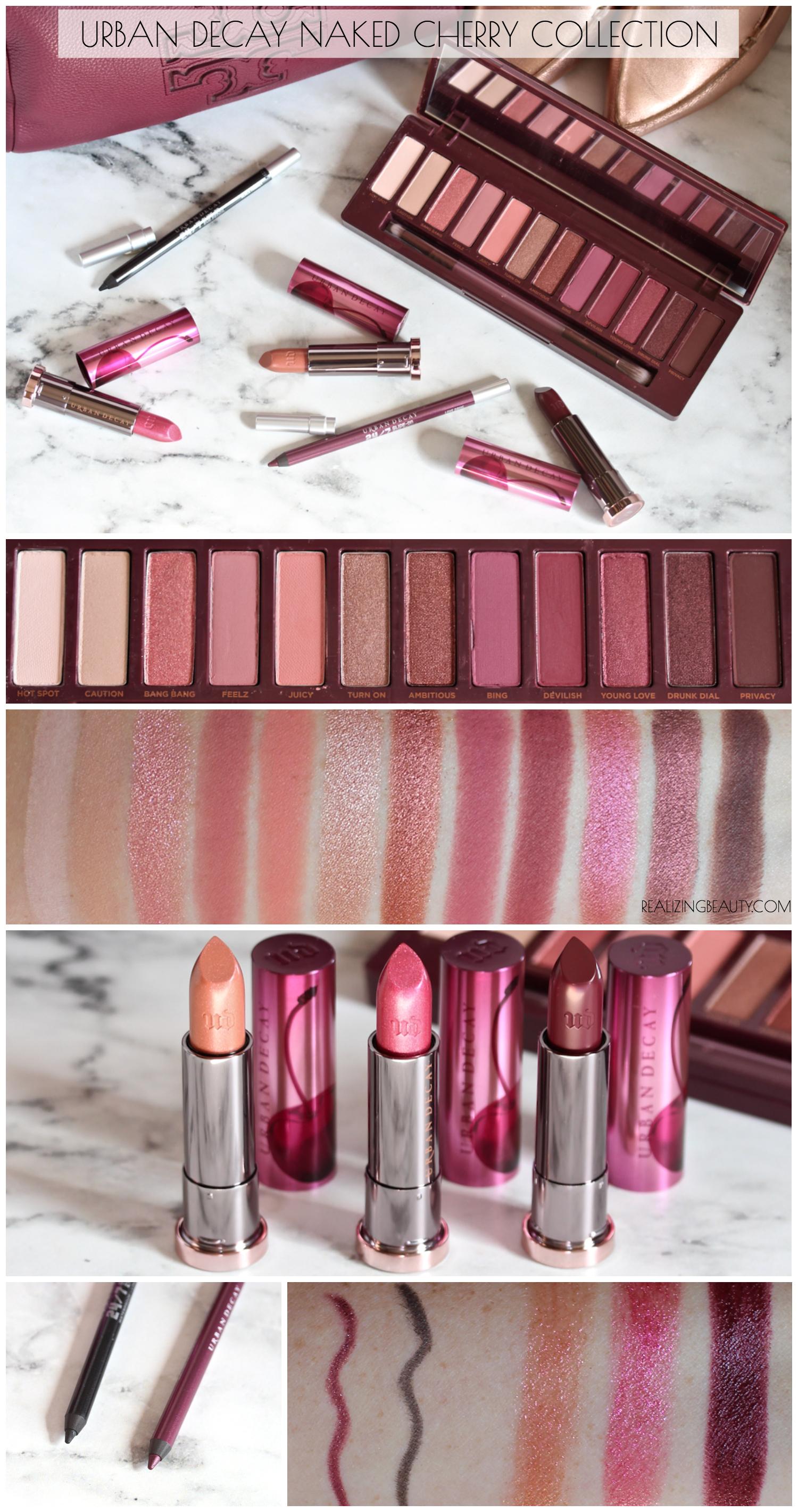 Urban Decay Naked Cherry Collection | News | BeautyAlmanac